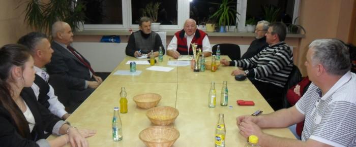 Posiedzenie Zarządu Oddziału