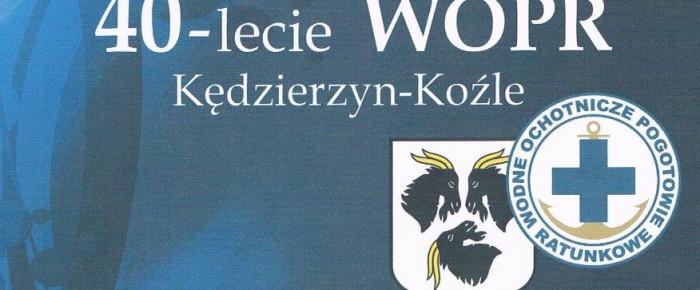 Program obchodów 40-lecia WOPR w Kędzierzynie-Koźlu