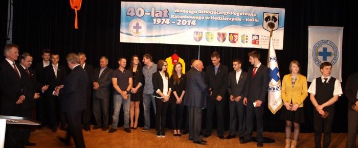 40-lecie WOPR w Kędzierzynie-Koźlu