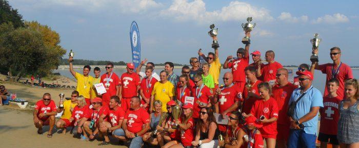 II mistrzostwa opolszczyzny w ratownictwie wodnym na wodach otwartych-Nysa 2016