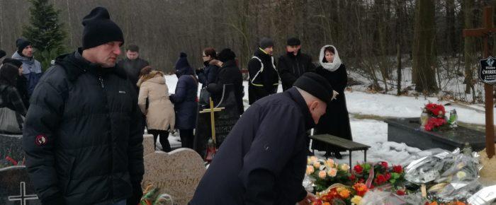 """Ostatnie pożegnanie Wiesława Ćwirzenia """" Rumcajsa"""""""