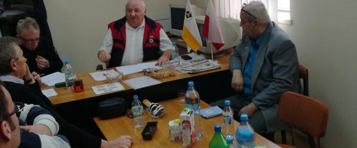 Posiedzenie Zarządu Oddziału  Rejonowego WOPR w Kędzierzynie Koźlu.