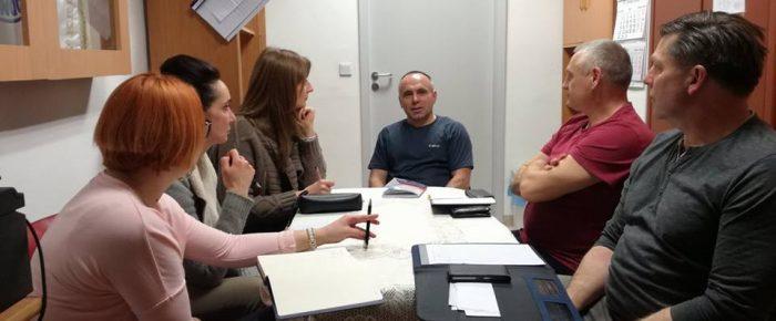 Posiedzenie zarządu  druzyny morsów WOPR Dębowa