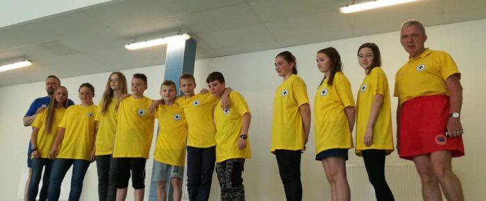Nowi ratownicy młodsi WOPR Kędzierzyn Koźle