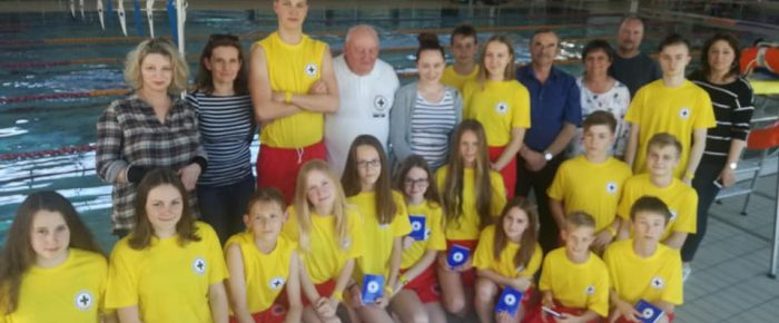 Nowi młodsi ratownicy WOPR w Strzelcach Opolskich