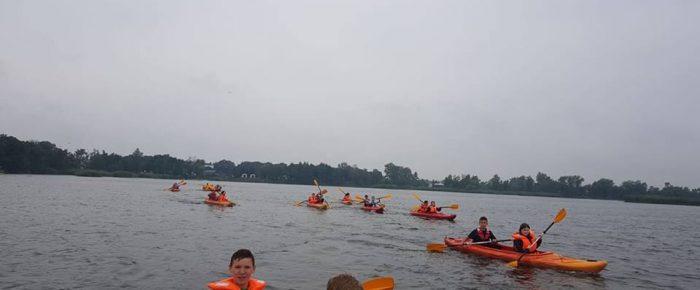 Szkoleniowe spędzanie czasu  nad wodą Januszkowice.