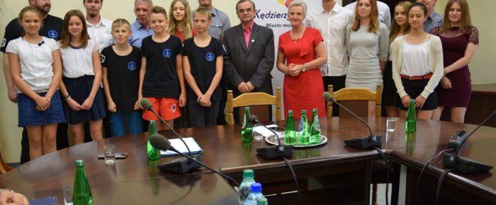 Spotkanie ze sportową drużyną ratownictwa wodnego MUKS WOPR Kędzierzyn Koźle