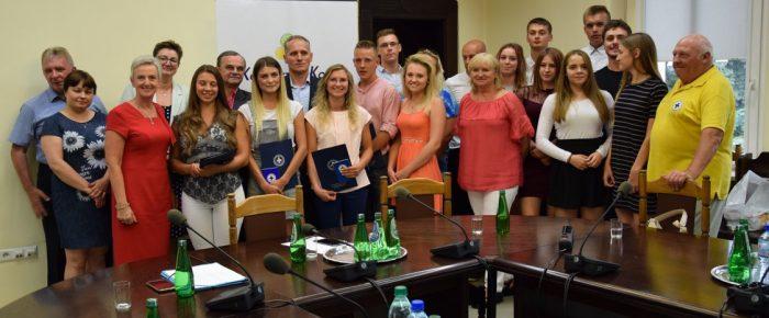 Ratownicy WOPR u Prezydenta Miasta Kędzierzyna Koźla