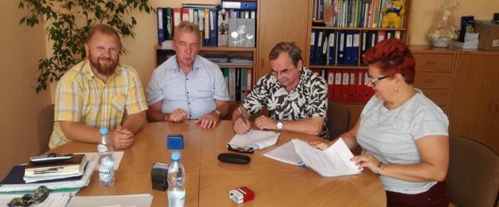 Podpisanie porozumienia o współpracy z PSP nr 9 w Kędzierzynie Koźlu