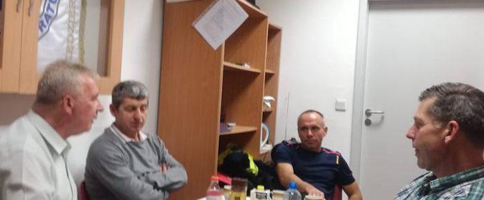 Posiedzenie  zarządu sekcji żeglarskiej MUKS WOPR
