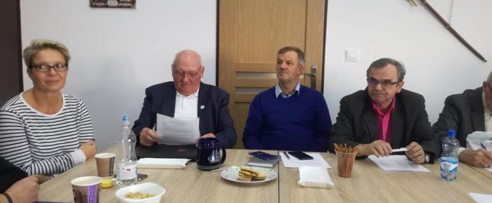 Posiedzenie Zarządu WOPR Województwa Opolskiego.