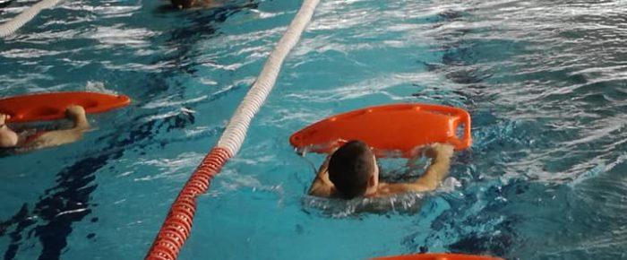 Szkolenie na stopień ratownika wodnego.