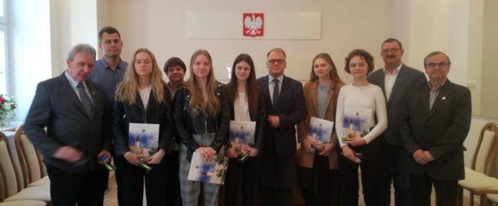 Spotkanie u Burmistrza Strzelec Opolskich