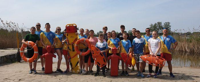 Szkolenie  młodszego  ratownika WOPR i ratownika wodnego.