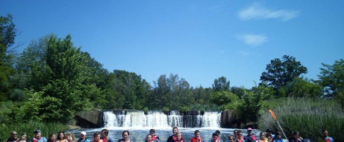 Zabezpieczenie spływu – drużyna WOPR Leśnica
