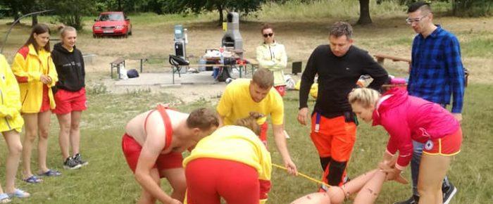 Wspólne ćwiczenia z ratownikami medycznymi