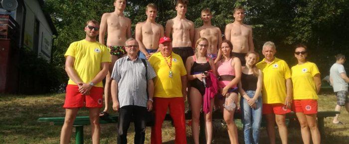 Szkolenie ratowników  wodnych Olesno- Dobrodzień