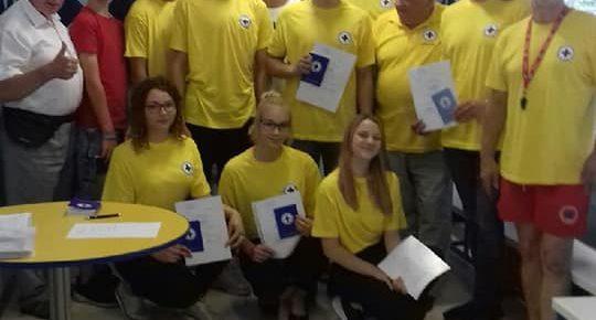 Nowi ratownicy WOPR w Oleśnie  i Dobrodzieniu