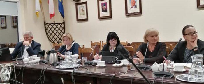 Posiedzenie komisji  edukacji ,kultury i sportu Rady Miejskiej.