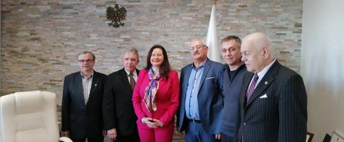 Spotkanie u Wojewody Opolskiego.