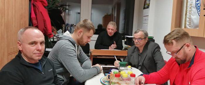 Posiedzenie Zarządu MUKS WOPR  Kędzierzyn Koźle