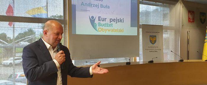 Spotkanie Europejski Budżet Obywatelski.