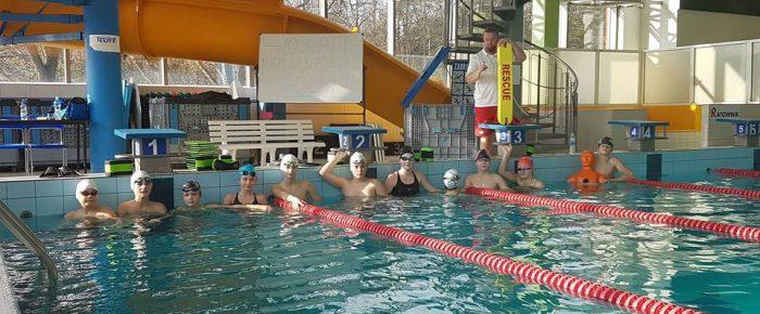 Rozpoczęcie szkolenia  w sportowym ratownictwie wodnym.