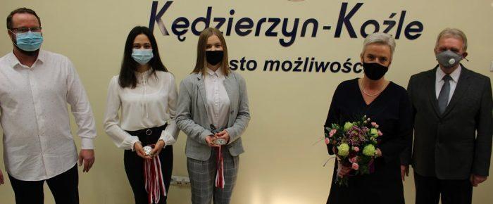 Spotkanie medalistów  z Prezydentem Miasta K-Koźle.