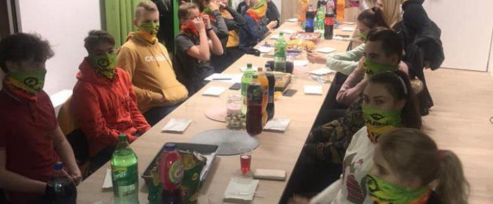Zebranie drużyny WOPR Leśnica
