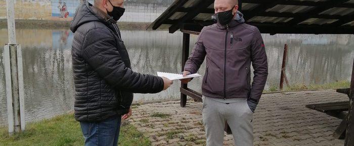 Michał Tołoczko  nowym kierownikiem drużyny WOPR Odra Koźle.