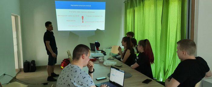 Szkolenie drużyna WOPR Leśnica