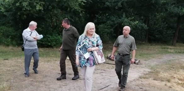 Współpraca  Lasy Państwowe _ WOPR Kędzierzyn Koźle.